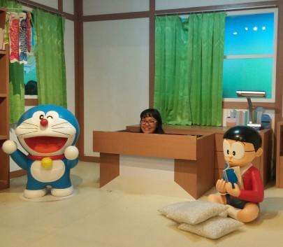 keluar di laci nobita!