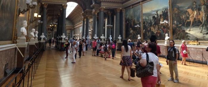 galerie des batailles - isinya lukisan pertempuran di prancis dari masa ke masa