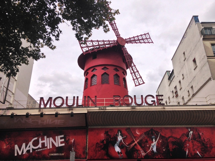 Paris red light district - Moulin Rouge