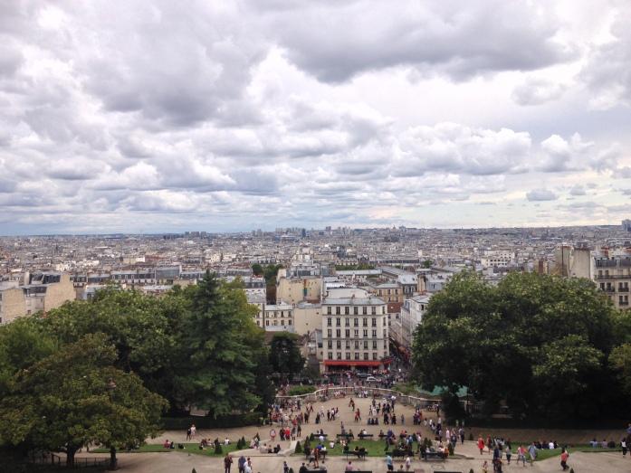 Paris dari atas Montmartre