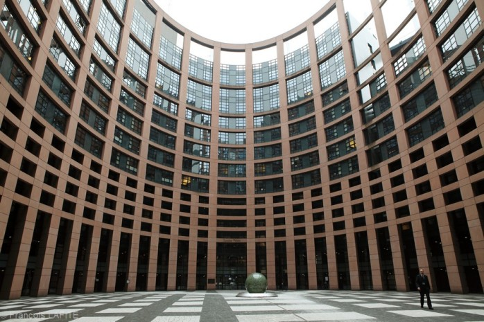 Le Parlement Europeen a Strasbourg